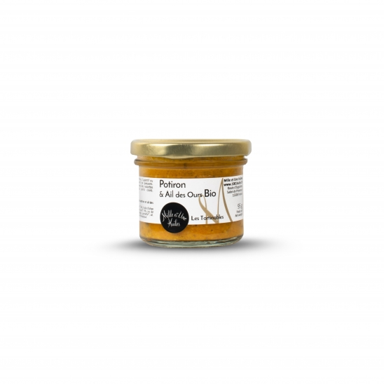 Pumpkin and wild garlic spread, organic