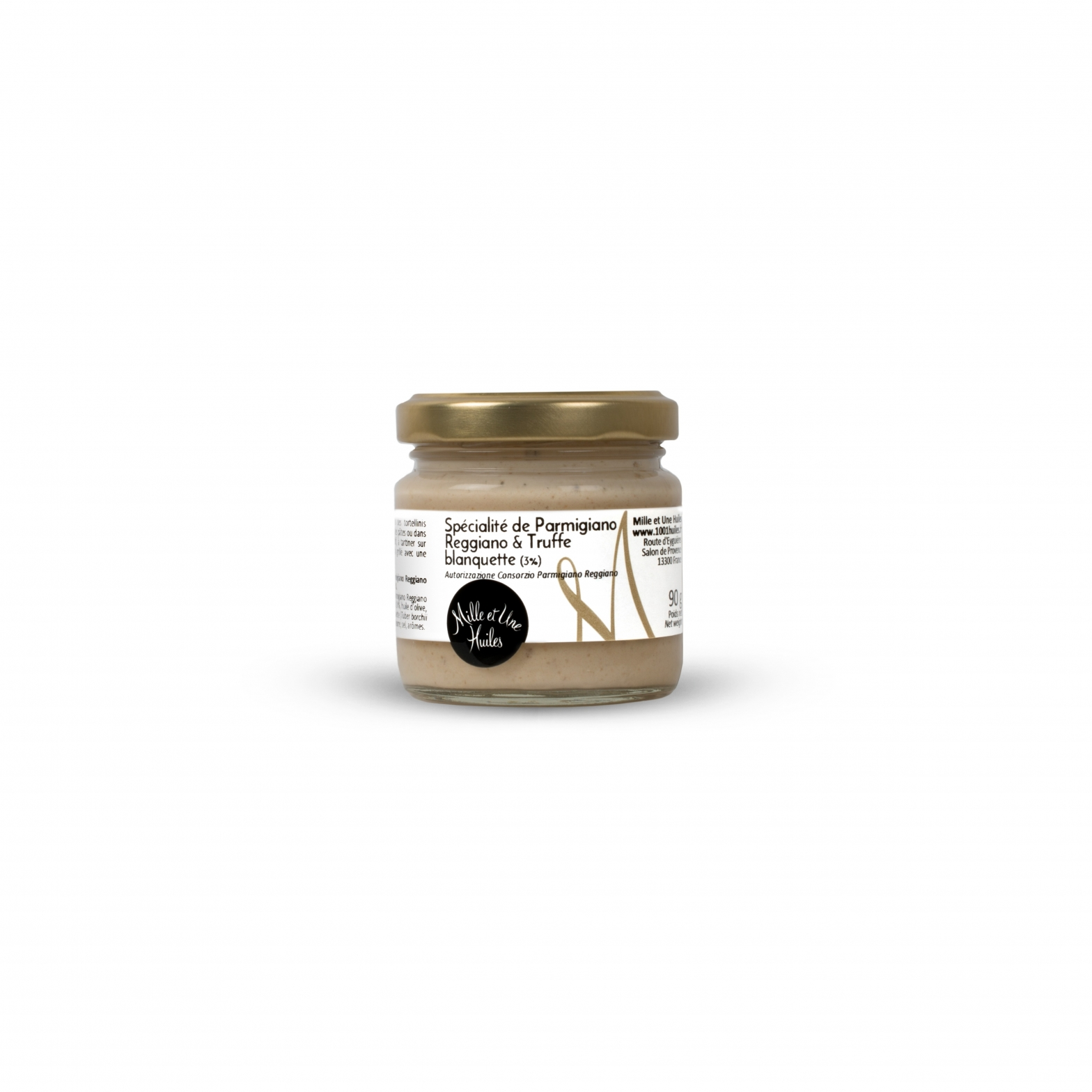 Parmesan cheese with truffle (3%) spread