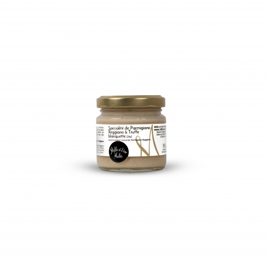 Parmesan cheese with truffle (3%) spread, flavoured
