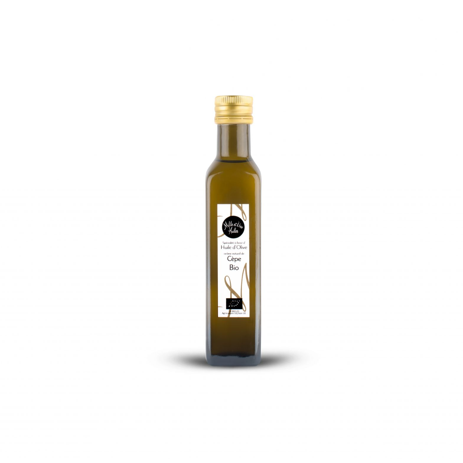 Cep-flavoured olive oil dressing, organic