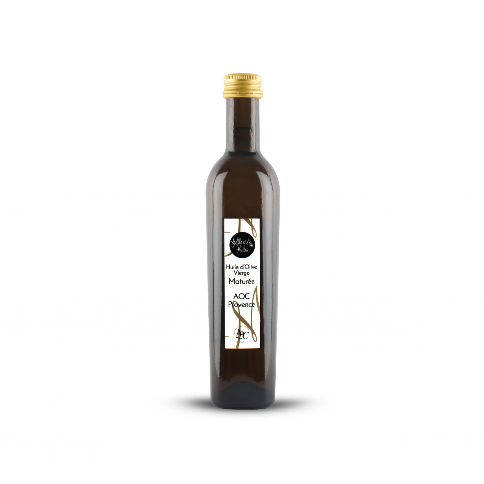 Virgin olive oil Matured selection, AOC Provence, France,