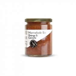 Organic orange and cinnamon marmalade