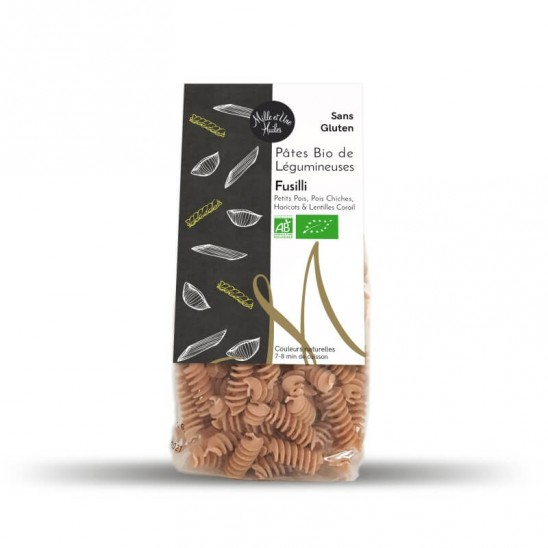 Organic Fusilli with multi legumes