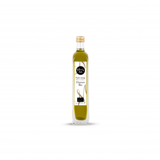 Virgin hemp oil, organic