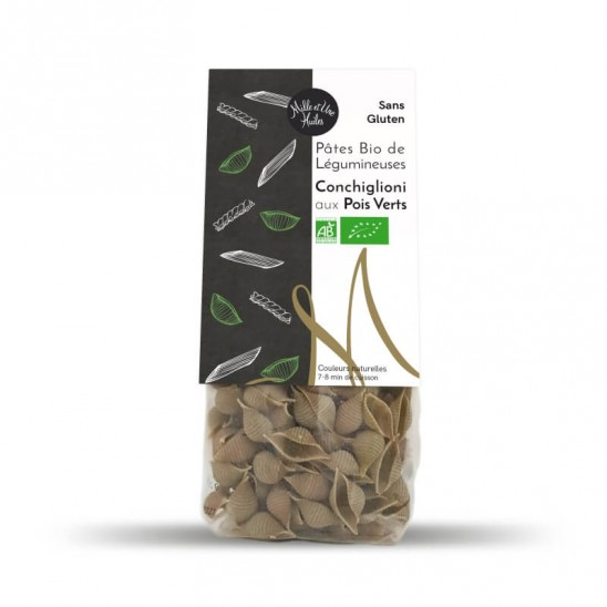 Organic Conchiglioni Bio with Green Peas