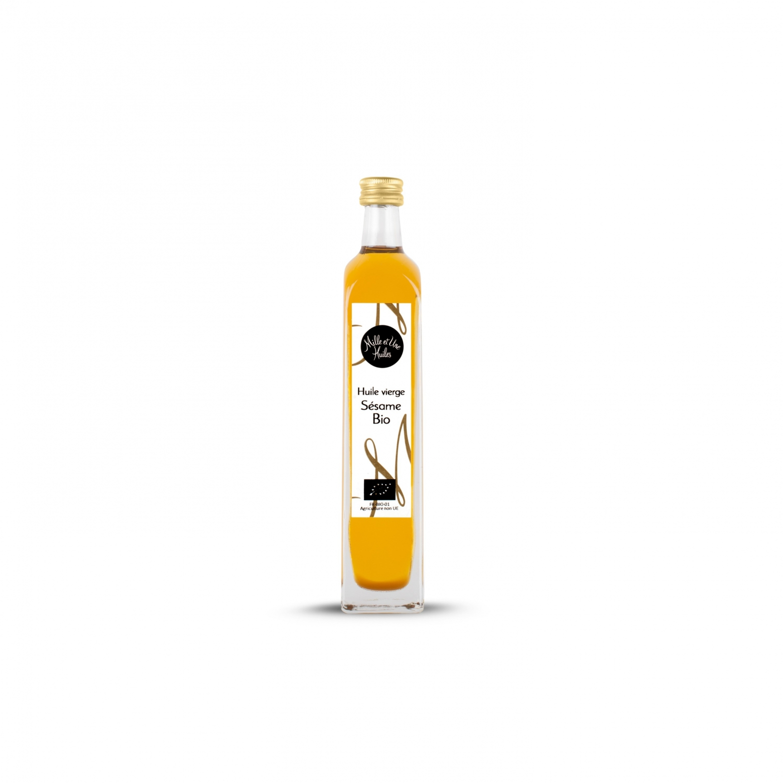 Organic sesame virgin oil